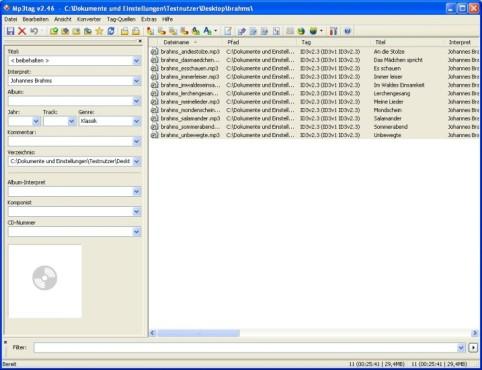 Mp3tag: CD-Cover in MP3-Player und Audio-Software anzeigen