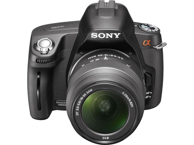sony a390 und a290 spiegelreflexkameras audio video foto bild. Black Bedroom Furniture Sets. Home Design Ideas