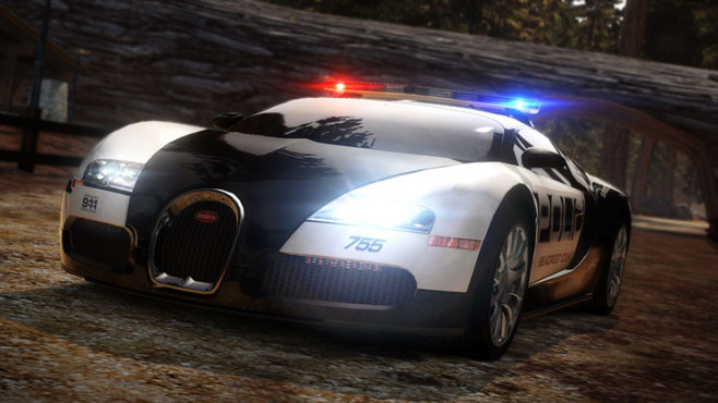 Rennspiel Need for Speed – Hot Pursuit: Bugatti Veyron © Electronic Arts