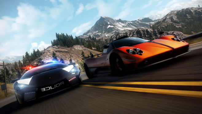 Rennspiel Need for Speed – Hot Pursuit: Duell © Electronic Arts