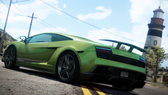 Rennspiel Need for Speed – Hot Pursuit: Lamborghini Gallardo Superleggera © Electronic Arts
