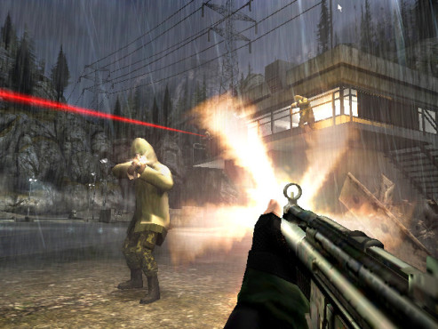 Actionspiel Golden Eye 007: Kampf © Activision