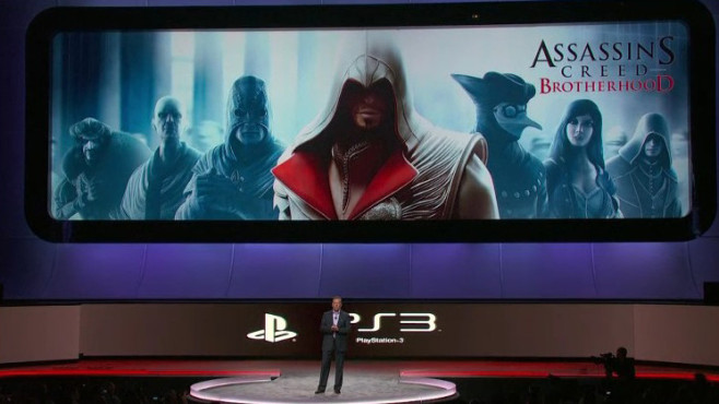 Sony Pressekonferenz E3 2010: Assassin's Creed – Brotherhood © Sony