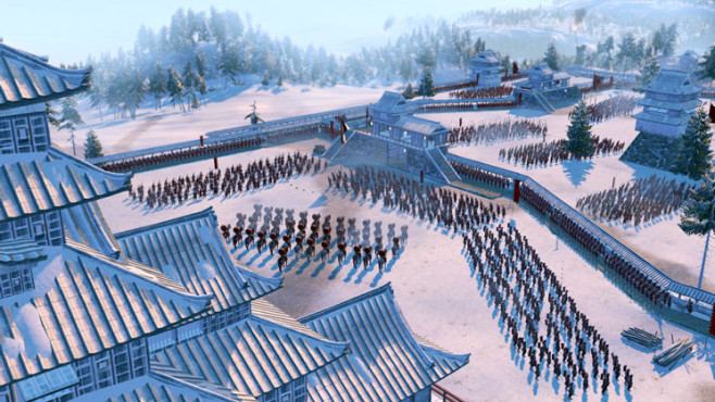 Strategiespiel Shogun 2 – Total War: Morgenappell © Sega