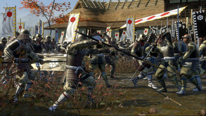 Strategiespiel Shogun 2 – Total War: Nahkampf © Sega