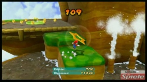 Video: Super Mario Galaxy 2 – Wunderaffe Highscore-Jagd Bienenterrain © Nintendo