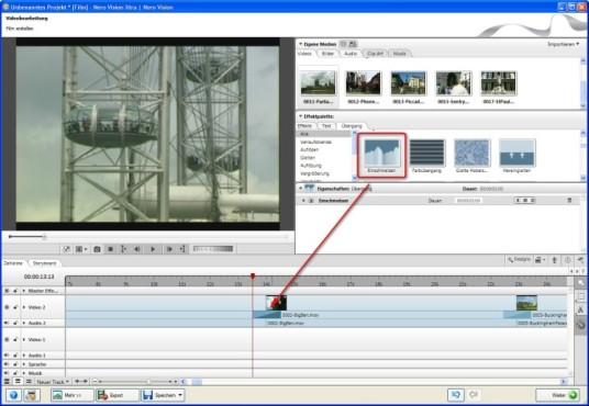 Nero: Animierte Bildübergänge einsetzen