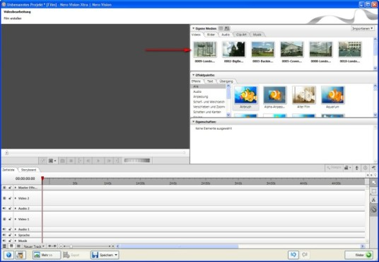 Nero: Der Video-Editor