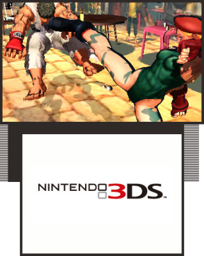 Prügelspiel Super Street Fighter 4 3D Edition: Tritt © Capcom