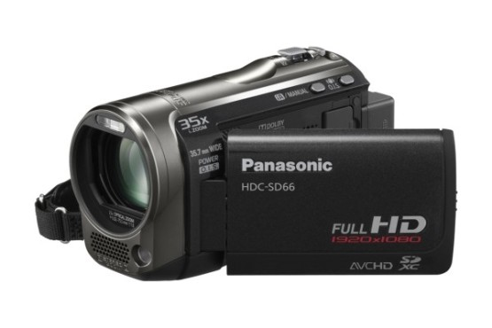 Panasonic HDC-SD66 © Panasonic