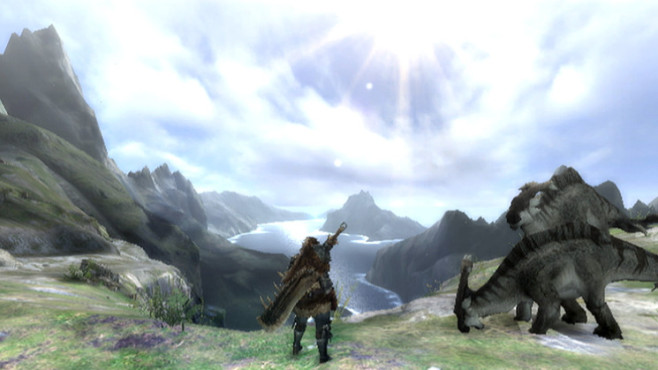 Actionspiel Monster Hunter 3: Aussicht © Capcom