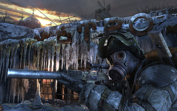 Actionspiel Metro 2033: Eis © THQ