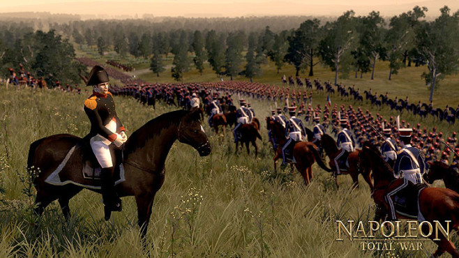 Strategiespiel Napoleon – Total War: Reiter © Sega