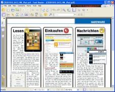 Foxit Reader: �Foxit Reader� steht Ihnen mit praktischen Werkzeugen bei der Arbeit mit PDF-Dateien zur Seite.