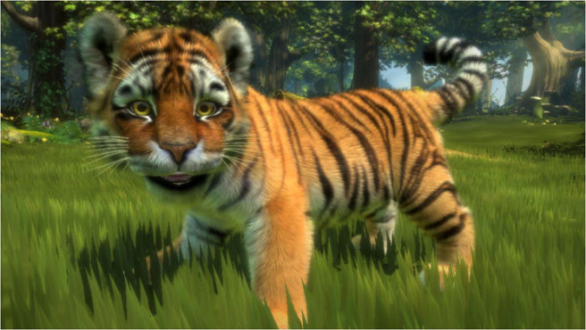 Simulation Kinectimals: Tiger © Microsoft