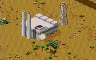 Desert Strike ©Electronic Arts