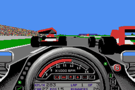 Formula One Grand Prix © Microprose