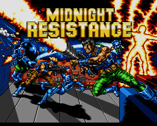 Midnight Resistance © SEGA of America, Inc.