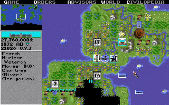 Sid Meier's Civilization © MicroProse Software, Inc.
