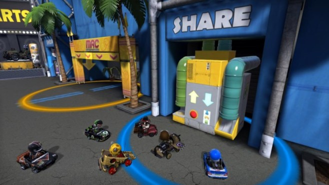Rennspiel Modnation Racers: Share © Sony
