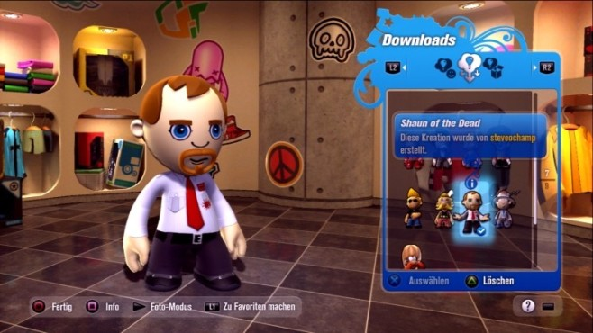 Rennspiel Modnation Racers: Shaun of the Dead © Sony