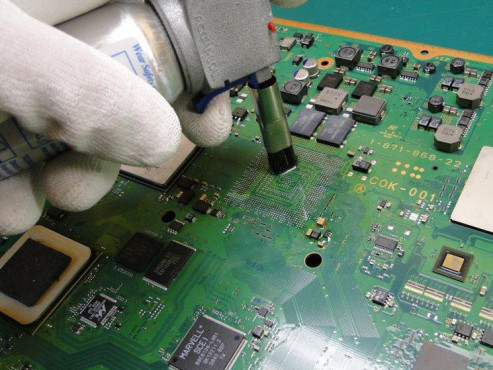 YLOD Reparatur PS3 © Konsolendoktor.at