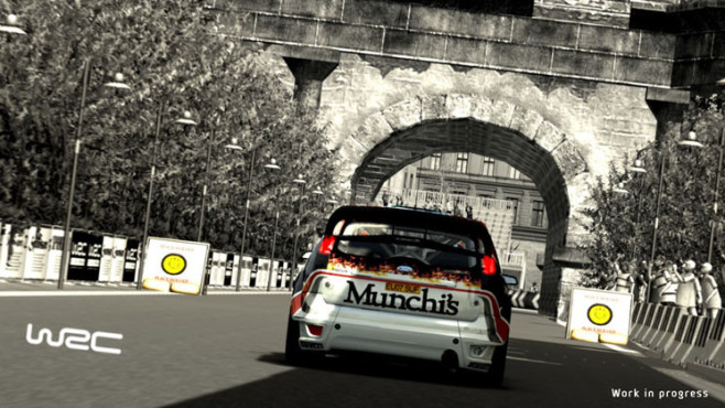 Rennspiel WRC – FIA World Rally Championship: Brücke © F+F Distribution