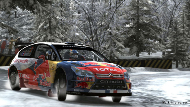Rennspiel WRC – FIA World Rally Championship: Loeb © F+F Distribution