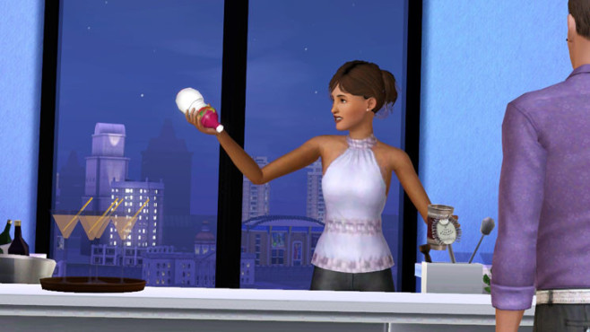Simulation Die Sims 3 – Late Night: Barkeeper © Electronic Arts