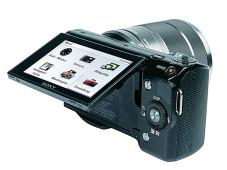 Klappbarer Monitor Sony NEX-5 ©COMPUTER BILD