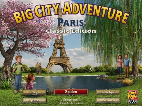 Big City Adventure – Paris © Intenium