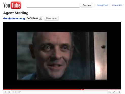 Das Schweigen der Lämmer – Dr. Hannibal Lecter analysiert Agent Starling ©YouTube