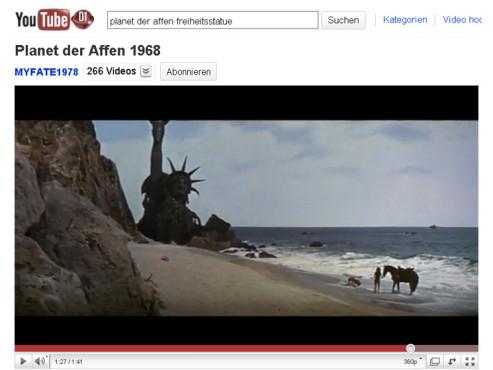 Planet der Affen – Die Freiheitsstatue ©YouTube