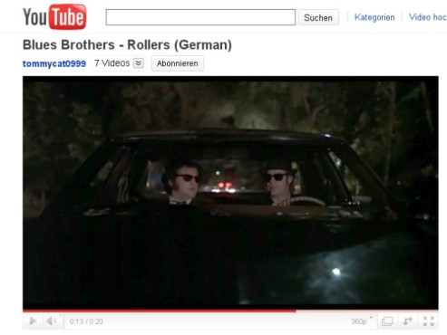 The Blues Brothers  – Die Streife © YouTube