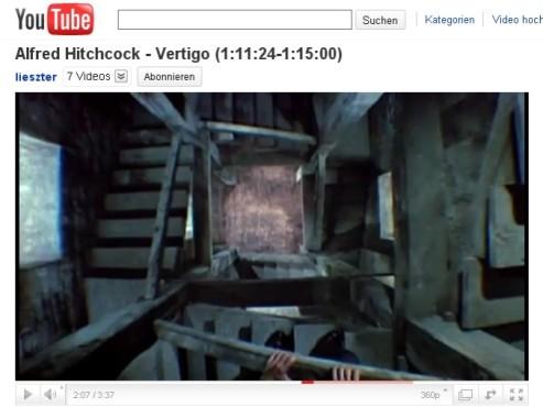 Vertigo – Aus dem Reich der Toten – Der Vertigo-Effekt ©YouTube