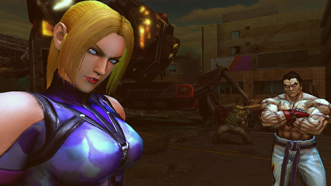 Prügelspiel Street Fighter X Tekken: Nina Williams © Capcom