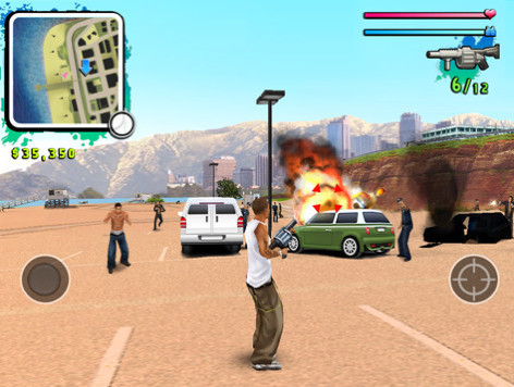Gangstar – West Coast Hustle HD © Gameloft
