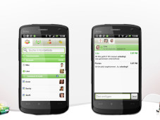 Screenshots ICQ f&uuml;r Android-Smartphones&nbsp;&copy;&nbsp;ICQ