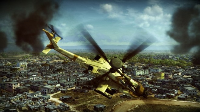 Simulation Apache – Air Assault: Horizont © Activision
