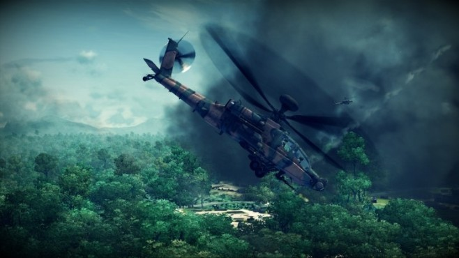 Simulation Apache – Air Assault: Landschaft © Activision
