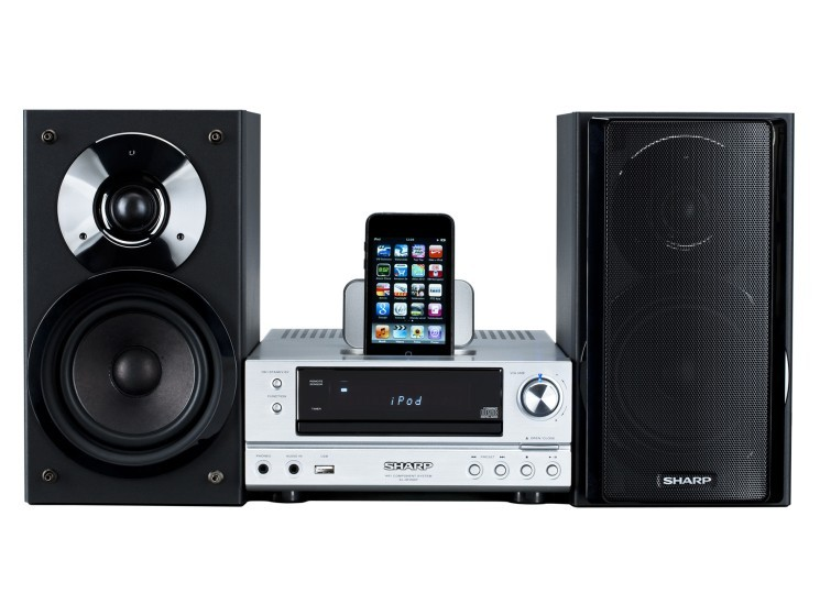 Sharp HiFi Stereo Soundsystem XL HF200PH Fur IPhone Und IPod