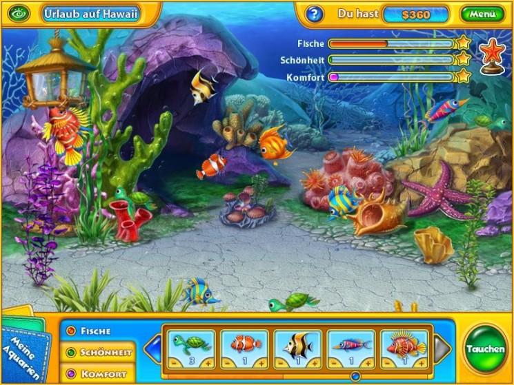 Probieren sie 20 flashgames wie die fisch oase h2o kostenlos aus