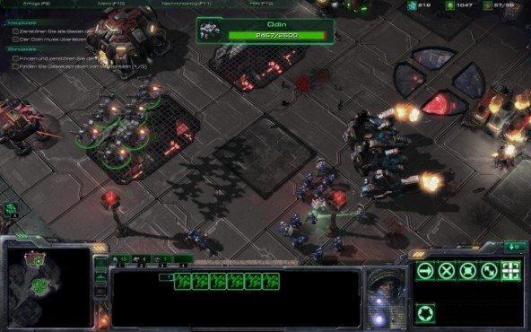 Starcraft 2 � Wings of Liberty: Verband ©Blizzard