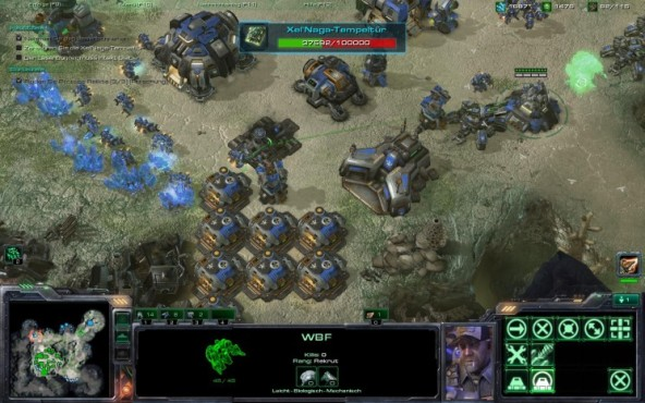 Starcraft 2 – Wings of Liberty: WBF © Blizzard
