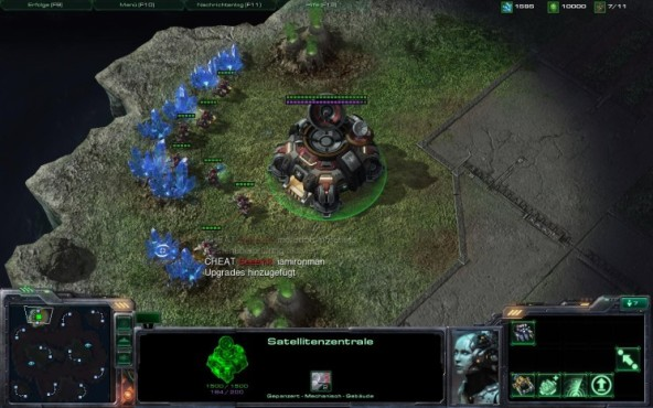 Strategiespiel Starcraft 2: Cheats 10 © Blizzard