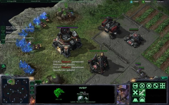 Strategiespiel Starcraft 2: Cheats 9 © Blizzard