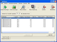 MP3Gain: Mit dem kostenlosen �MP3Gain� gleichen Sie unterschiedlich laute Audio-Dateien aneinander an.