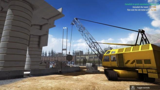 Baustellen-Simulator 2016 ©Koch Media