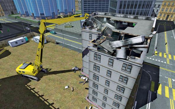 Demolition Company – Der Abbruch-Simulator ©Astragon