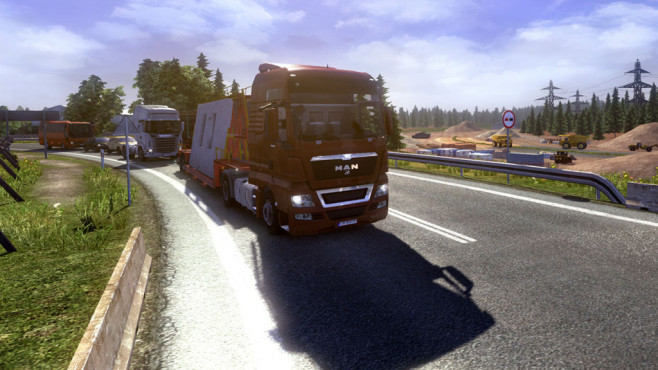 Euro Truck Simulator 2 Going East ©Rondomedia